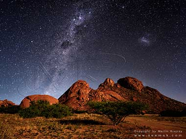 Milky-Way Damaraland